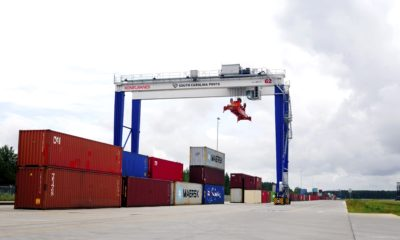 SC ports welcomes new agriculture export transload facilityq