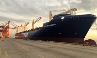 FESCO new vessel starts working on the ports of China and Far East of Russia