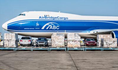 "AirBridgeCargo reports 10% growth of ""nose door"" loaded shipments"