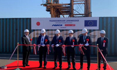 FESCO and Russian Railways launch transit service for delivery of goods