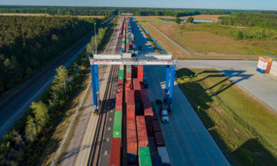 SC Ports Authority reports 10% volume growth, receives new cranes