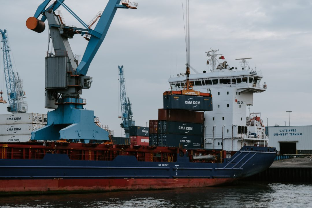 What does a container ship look like? Source: PexelsWhat does a container ship look like? Source: Pexels