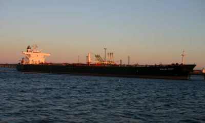 """Unsealed warrant and forfeiture complaint seek seizure of oil tanker """"Grace 1"""""""