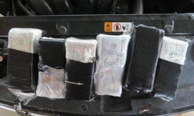 CBP officers seize drugs & undeclared currency