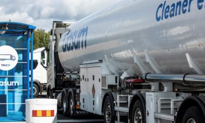 Sweden's northernmost liquefied gas filling station opens in Östersund