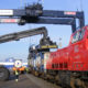 Inauguration of new entry track at shunting station: Longer trains for seaport's hinterland transport