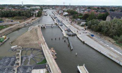 Jan De Nul completes water infrastructure works in Harelbeke
